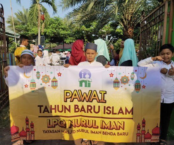 Pawai Muharram 1441 H Masjid Nurul Iman Benda Baru